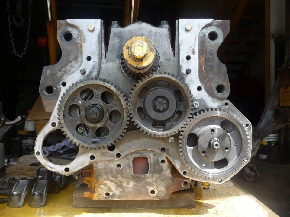 FORD 555D ENGINE OVERHAUL EQUIPMENT REPAIR