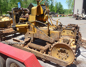 Salvaged construction equip parts NY
